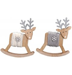 these little wooden reindeer will be sure to add a Festive feel to any home interior