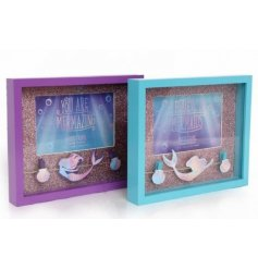 An assortment of 2 6x4 Mermaid Design Peg Frame