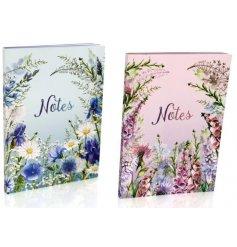 An assortment of 2 A5 Meadow & Garden Notepads
