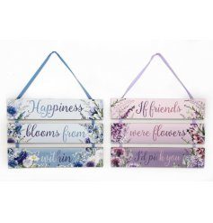 An assortment of 2 Meadow & Garden 3 Tier Plaques