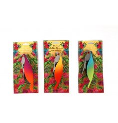 An assortment of 3 Parrot Bottle Openers