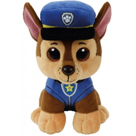 Chase From Paw Patrol TY Beanie 7 inch
