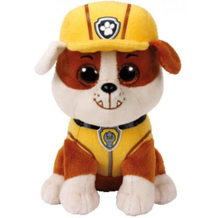 Rubble From Paw Patrol TY Beanie 6 inch