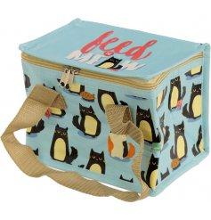A Feed Me Meow Cat design Cool Bag