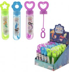 An assortment of 3 Enchanted Seas Mermaid Blowing Bubbles