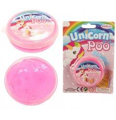 A fabulous pot of Pink Unicorn Poo Magic Slime
