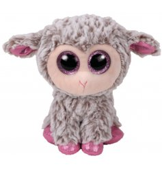 A Dixie The Lamb TY Beanie Boo Soft Toy