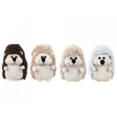 An adorable bunch of natural toned woodland critter soft toys