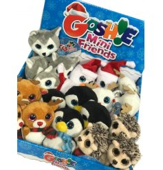 these fun festive character soft toys will fit perfectly in any stocking or Christmas eve box!