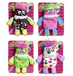 If your little one has any worries or fears give them one of these colourful zip up bag clips!