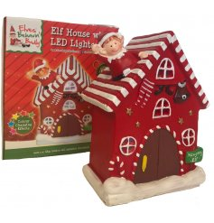 Place in any space of the home with our additional available Elves Behavin' Badly range for a complete set!