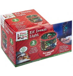 Let your little ones drift off into a peaceful sleep with the help of this multicoloured Christmas inspired dream light