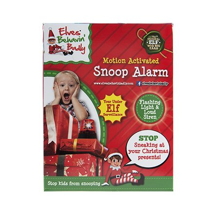 Motion Activated Snoop Alarm