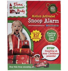 This little noisy alarm will be sure to make your children behave and stay on the nice list in the build up to Christma