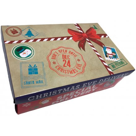 this fun and festive themed christmas eve box will be a perfect little early present for - Does Mail Get Delivered On Christmas Eve