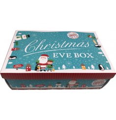A fun and festive themed mini Christmas Eve Box! Fill with all the necessities of a cozy Christmas Eve for your little