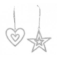Set with their double design and added diamonte decal, these hangers will be sure to twinkle perfectly under any fairy