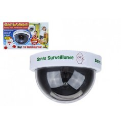 Make sure your little ones are on their best behaviour on the build up to Christmas with this handy Santa Surveillance