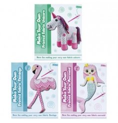 Have your little ones craft their own cuddly characters with this fun and creative Sew Your Own Mermaid, Flamingo and U