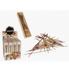A Mikado Wooden Sticks Retro Game