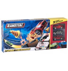 Teamsterz Turbo Takedown  A fast and fun toy for any little one with a need for speed!
