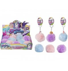 A fun and magical assortment of coloured pompoms complete with a fairy, unicorn and mermaid decal