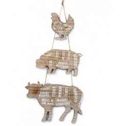 A perfect home accessory for any meat lovers!