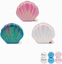 Add a magic mermaid touch to your manicure time with this 'clam'orous assortment of shell shaped manicure sets
