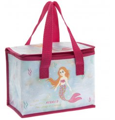 A Pink & Blue Mermaid Lunch Bag