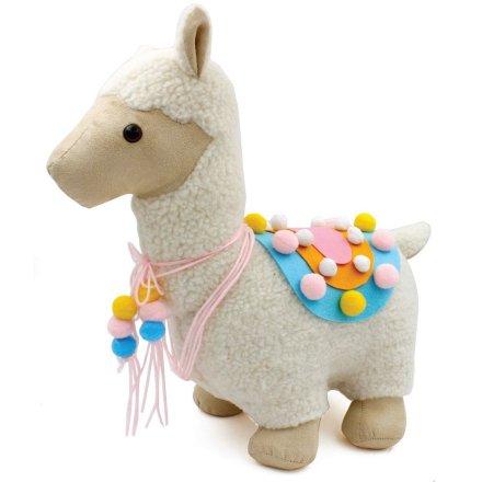 Fluffy Llama Doorstop