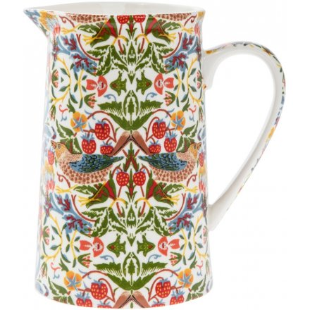 William Morris Strawberry Thief Medium Jug