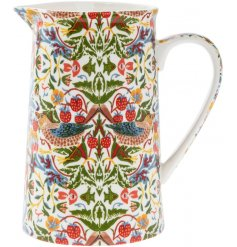 A William Morris Strawberry Thief Medium Jug