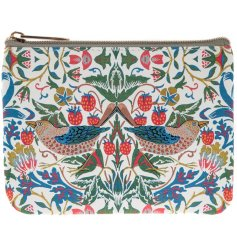 A William Morris Strawberry Thief Purse