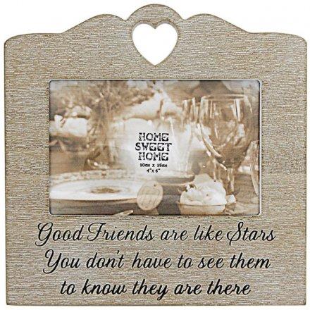 Good Friends Sentiments Frame