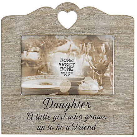 Daughter Sentiments Frame