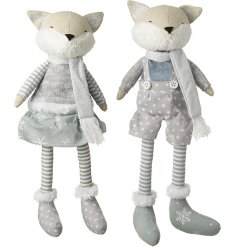 Bring a festive Sweet Dreams inspired touch to any home decor or display scene with these adorable foxes
