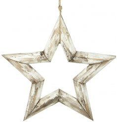 This Distressed Charm inspired hanging wall decoration will be sure to add compliments to any on-trend home space
