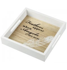 Bring a sweet and sentimental touch to any sideboard, coffee table or kitchen space with this beautifully scripted tray