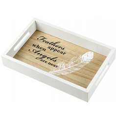A beautifully sweet and sentimental inspired home decoration, set with natural and white wooden tones to suit any home