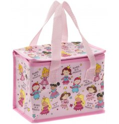 this little lunch bag will be sure to entertain your little ones while they eat