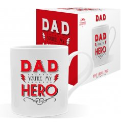A Dad You're My Hero china Mug