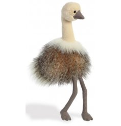 This Sadira the Ostrich plush soft toy will be sure to entertain any little one during play time