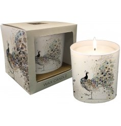 Add a bright and colourful dash to any home space or interior with this beautifully decorated ceramic candle pot