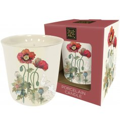 A beautiful new line ofVintage Poppy themed homewares each complete with an delicate watercolour pattern