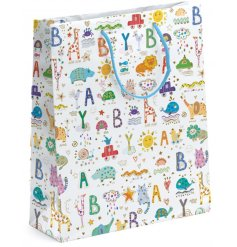 A Turnowsky Baby Print XL Gift Bag