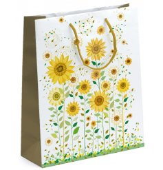 A beautifully illustrated gift bag, perfect for bringing a touch of summer to any gift giving occasion