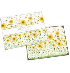 A beautifully illustrated set of 4 table placemats, perfect for bringing a touch of summer to any dinner table or kitche