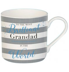 Be sure to make any grandad smile on fathers day or their birthdays with this wonderful themed china mug