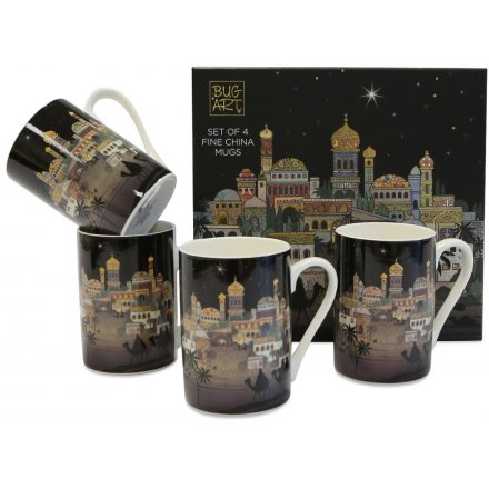 Bethlehem City - Set of Mugs