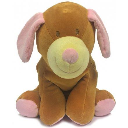 Soft and Cuddly Milli Moo Pinky Ear Dog